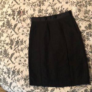 Midi Black Skirt 6
